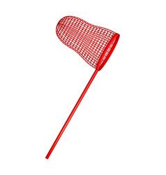 Net in red design vector