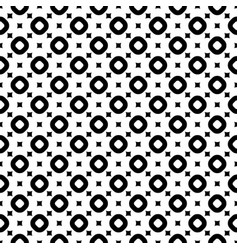 Seamless pattern with smooth squares and rings vector