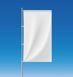White banner Stock vector image