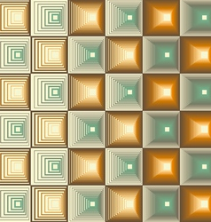 Three Seamless Retro Patterns vector image vector image
