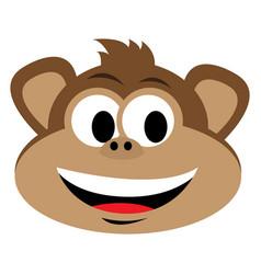 avatar of monkey vector image