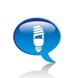 Bulb icon vector