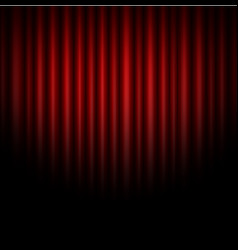 Curtain abstract red background vector