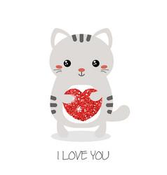 cute cats of cute cats vector image
