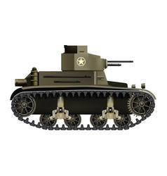 M2 light tank - realistic vector