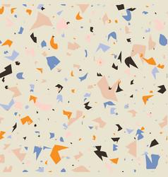 terrazzo seamless pattern design vector image
