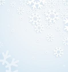 Winter abstract bright background vector image