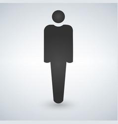 human icon male icon vector image