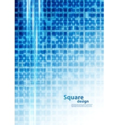 Background with squares vector image vector image