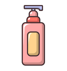 Shampoo icon cartoon style vector