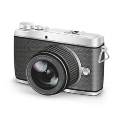 amateur camera vector image vector image