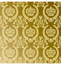crown pattern vector image