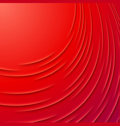Abstract background with red layers vector