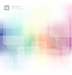 Abstract square transparent overlapping with vector