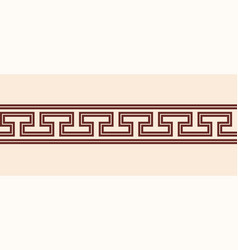 ancient greek background vector image