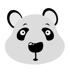 avatar of panda vector image