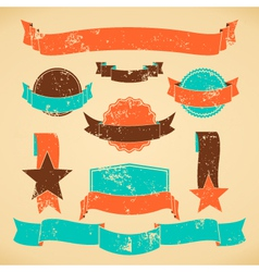 badges and banners collection vector image