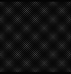 black and white abstract dot pattern background vector image