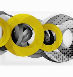 Circle background design vector