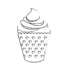 cupcake icon image vector image