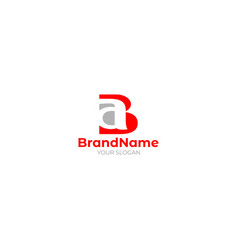 Initial ba logo design vector