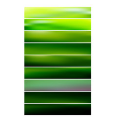multicolored blurred background set vector image