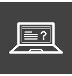 Online Exam vector image