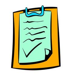 contract icon icon cartoon vector image