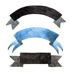Watercolor vintage tape vector image vector image