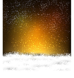 Brown christmas background with white copyspace vector image