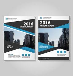 Elegance annual report Leaflet Brochure set vector image