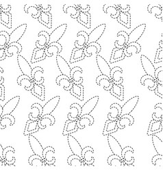 Fleur de lis icon image vector