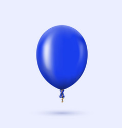 modern glossy helium balloon for birthday vector image