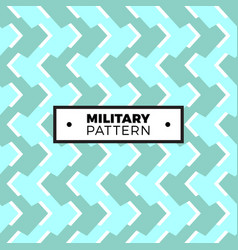 seamless pattern with geometric camouflage vector image
