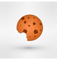 Sweet cookie vector image