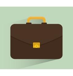 Business briefcase design vector image