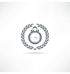 time icon vector image