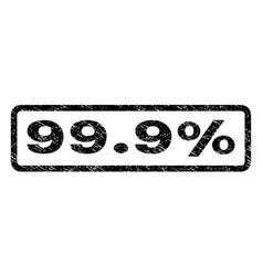 999 percent watermark stamp vector