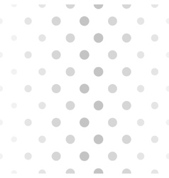 Abstract dotted gray and white pattern vector