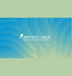 abstract gradient liquid concept wavy background vector image