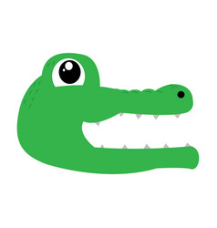 Avatar of crocodile vector