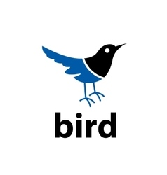 Bird logo vector