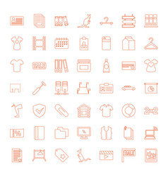 blank icons vector image