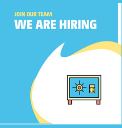 Join our team busienss company locker we are vector