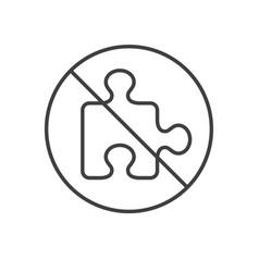 no plugin icon vector image