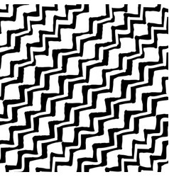 painted chevron pattern seamless brush stroke vector image