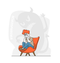Schizophrenia mental disorder dissociative vector