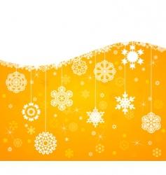 winter background4 vector image