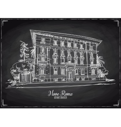 Hand drawn Rome vector image