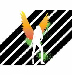 angel vector image vector image
